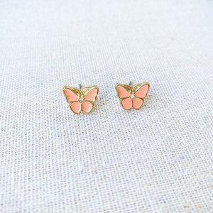 🍂4/$25🍂 LC | Pink Butterfly Stud Earrings